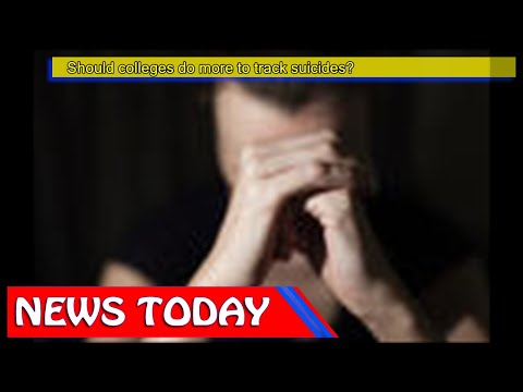 US News - Should colleges do more to track suicides?