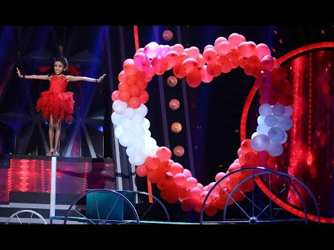 D4 Junior Vs Senior I Vaiga's wow...perfomanceI Mazhavil Manorama