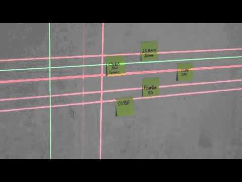 Самый яркий лазерный луч. Сравнение лазерных уровней (нивелиров) по яркости.