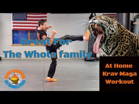 Family Krav Maga Workout | Follow Along  3.19.2020