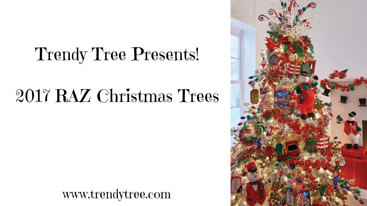 2017 raz christmas trees youtube - Raz Christmas Decorations