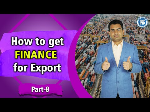 How to get FINANCE for Export Part 8 | By Paresh Solanki | Investment in Export Import Business