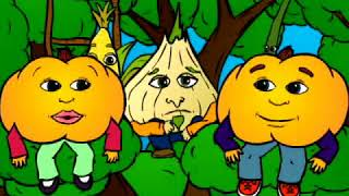 Vegetables pt.4/11: THERE IS ARE & Counting - Kids Online English Video