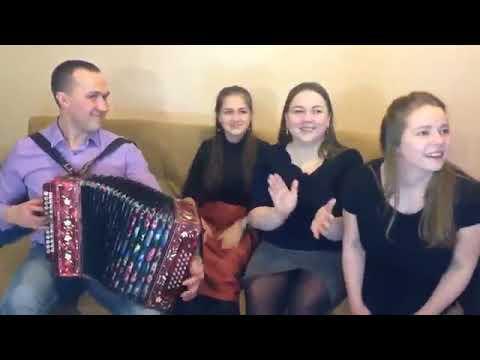 Иван Разумов, Лия Брагина, Светлана Кошелева и Вероника Курбанмамадова - Под окном широким 🎶