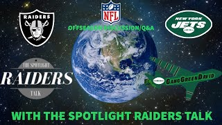 GangGreen David Livestream: NFL Offseason Discussion/Q&A feat. The SpotLight Raiders Talk