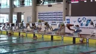 David Natación - Campeonatos De España - Son Hugo - 100 Metros Estilos - Calle 7, 2.02.17