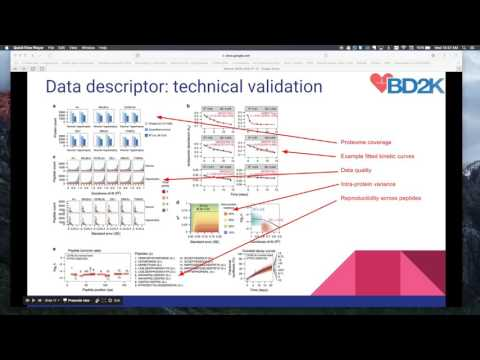 Accessing and analyzing protein turnover data on data sharing platforms