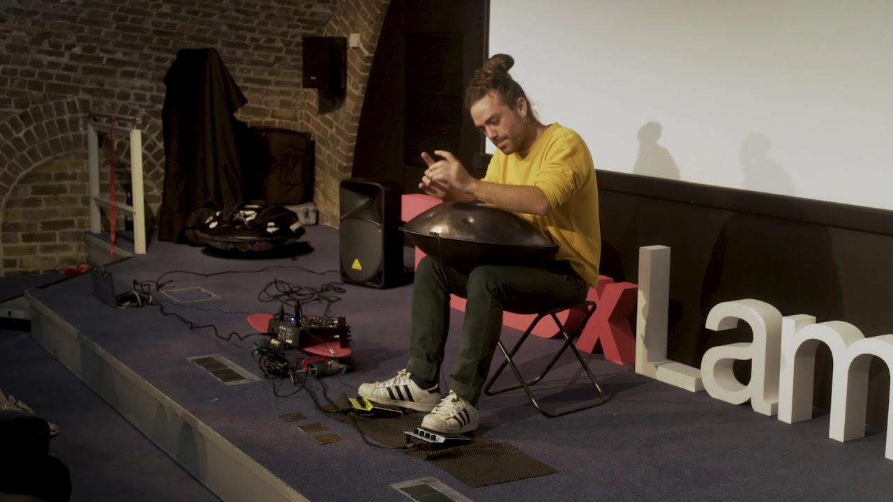 HandPan music | Gabriele Pollina | TEDxLambeth