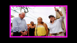 Sanders visits Puerto Rico, meets with governor and San Juan mayor Carmen Yulin Cruz, From YouTubeVideos