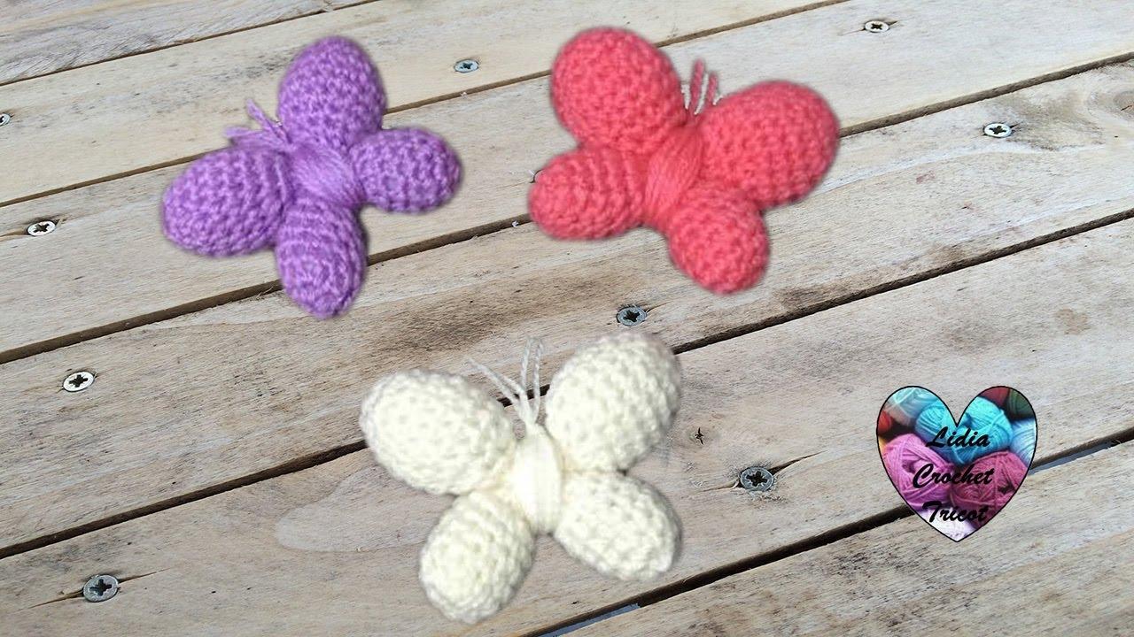 How to crochet a butterfly - Flauscheinhorn | 720x1280