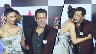 Salman Khan & Daisy Shah At Star Screen Awards 2016