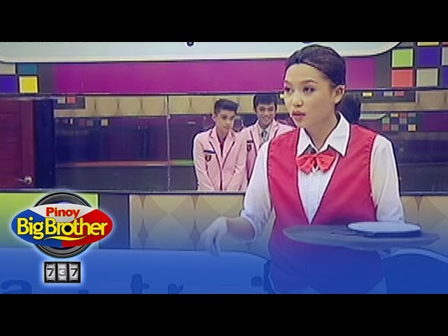 PBB 737 Update: Waiters and waitresses