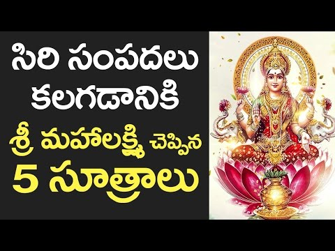 TOP 5 Tips to Get More WEALTH! | How to Earn More MONEY? | WEALTH Tips in Telugu | VTube Telugu