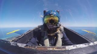 Melissa Smith flies high with the Blue Angels