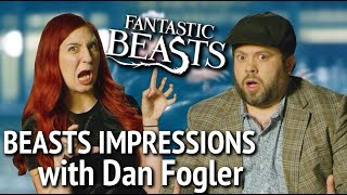 Fantastic Beasts Impressions Challenge with DAN FOGLER!