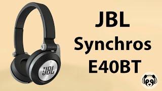 видеообзор на гарнитура jbl synchros e40bt