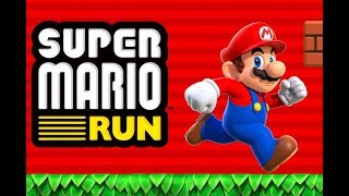 Super Mario Run Full Gameplay Walkthrough