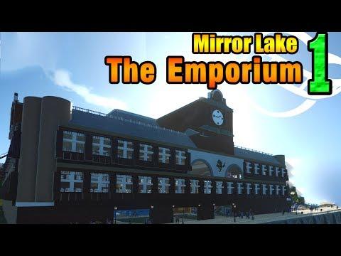 Planet Coaster - The Emporium - Mirror Lake ep. 1