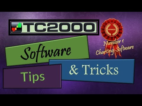 TC2000 Tips & Tricks | #1 Professional Charting Software