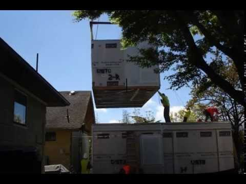 Eastern Ave Seattle, modular home addition, Hybrid Architecture
