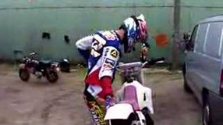 Everts on the 1990 YZ 125cc