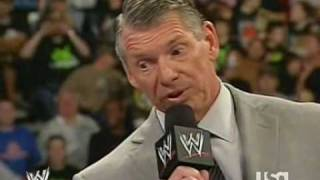 Triple H Confronts Mr. McMahon About Hornswoggle