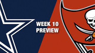 Cowboys vs. Buccaneers Preview (Week 10) | NFL