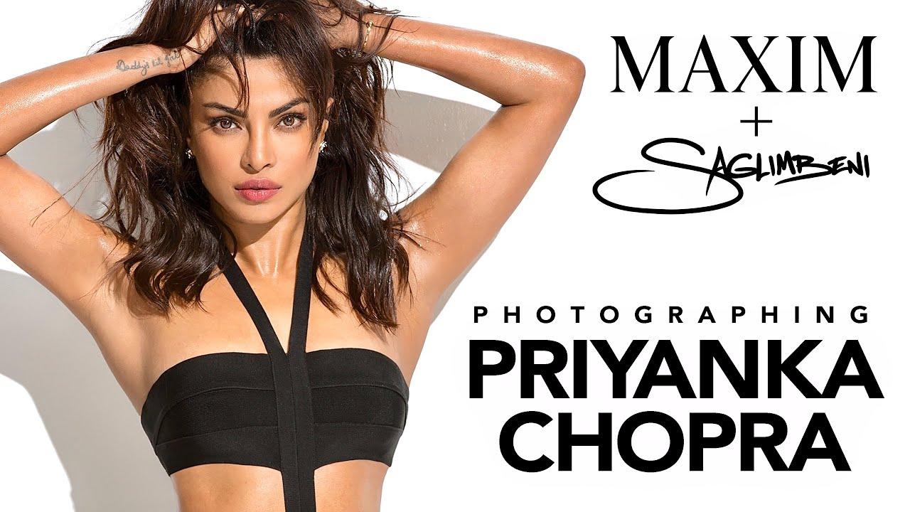 Priyanka Chopra Saglimbeni For Maxim India Hot 100 Youtube