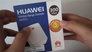 Unboxing & Cara Setting Huawei Wireless Range Extender WS331C Memperluas / Penguat Sinyal Wifi