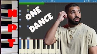 Drake ft. WizKid & Kyla - One Dance - Instrumental Remix - Piano Cover