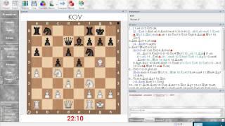 Шахматный анализ. Сицилианская защита (Олеся белыми). Урок 16 (часть 1)