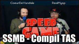 Speed Game - Super Smash Bros. Melee - Compilation des meilleures techniques en TAS