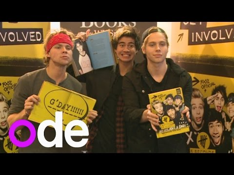 5 seconds of summers biggest fans 5sos meet and greet fans at top 5 seconds of summers biggest fans 5sos meet and greet fans at top secret book signing m4hsunfo