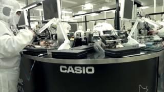 Производство и сборка премиум модели CASIO G-Shock MTG