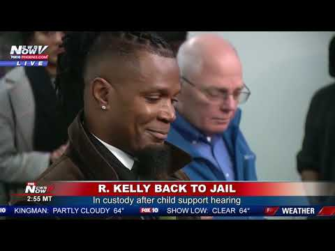 BREAKING: R. Kelly Back In Jail After Failing To Pay Child Support Mp3