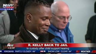 BREAKING: R. Kelly Back In Jail After Failing To Pay Child Support