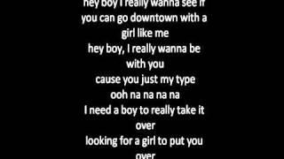 "Rihanna ft. drake ""what's my name"" (lyrics)"