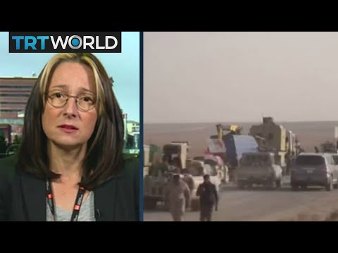 Fighting Daesh: Interview with Melany Markham, Norwegian Refugee Council (NRC) in Erbil Iraq