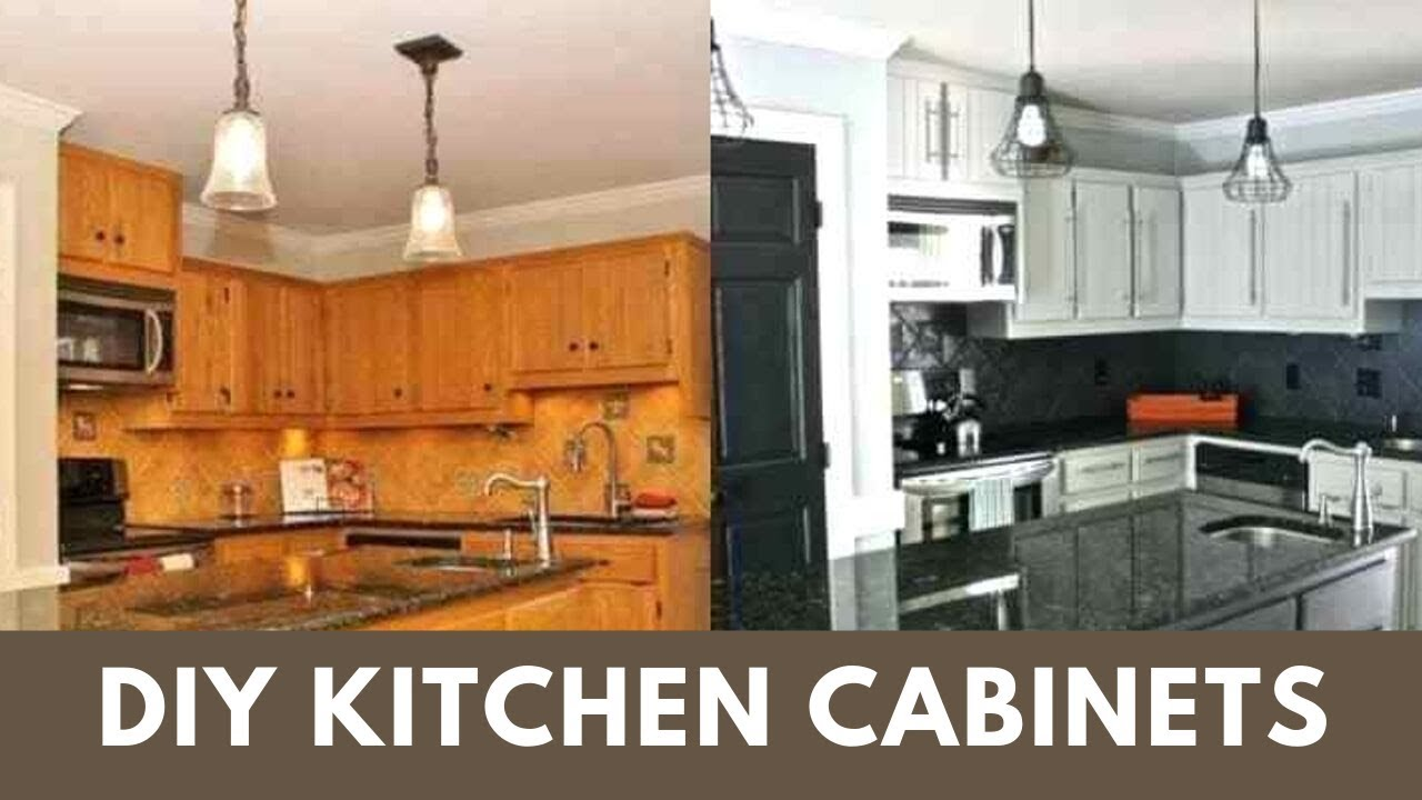 Paint Kitchen Cabinets Full Tutorial