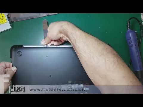 Asus N552VX Smontaggio e sostituzione batteria - Disassembly and Battery replacement