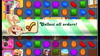 Candy Crush Saga Level 1569 walkthrough (no boosters)