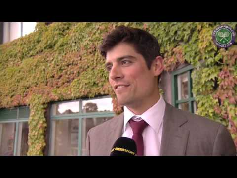 #wimblewatch with Alastair Cook