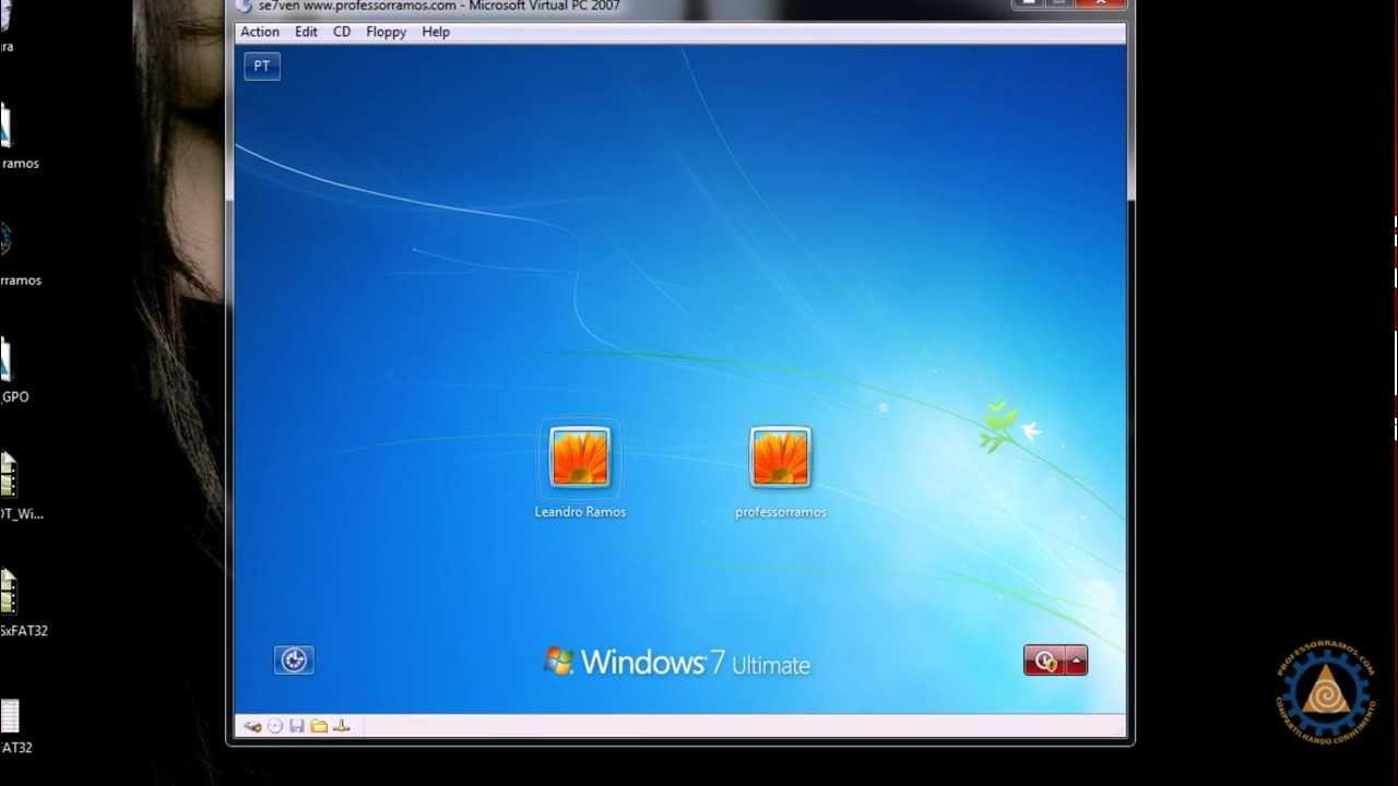 Habilitando o Usuário Administrador no Windows 7 -- www.professorramos.com - YouTube