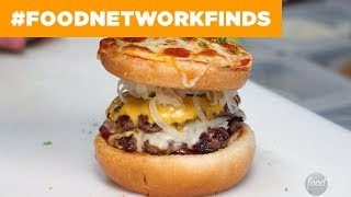 Meatzilla's Pizza Burger   Food Network