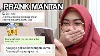 PRANK TEXT MALAH JADI BEGINI:(