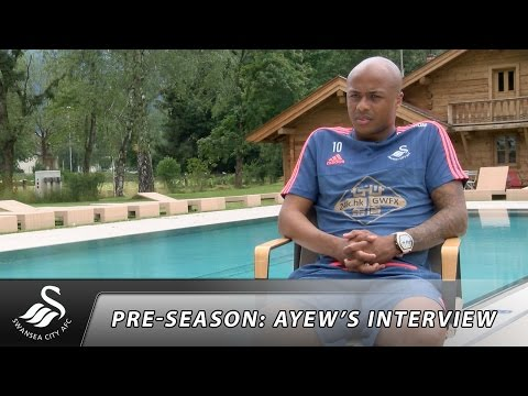 Swans TV - Pre-season: Interview with Andre Ayew