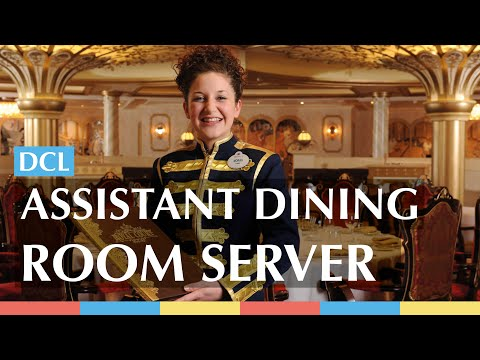 Assistant Dining Room Server   Disney Cruise Line Jobs
