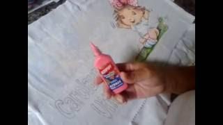 Dicas Artes da Ju Baby – usando tintas acripuff acrilex