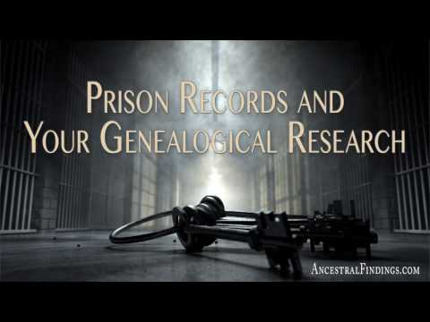 AF-110: Prison Records and Your Genealogical Research