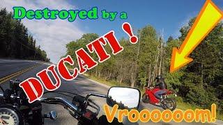 Superbike vs Cruiser?  Ducati vs Kawasaki? ha! yeah right. (short #7 Camden trip part 3)